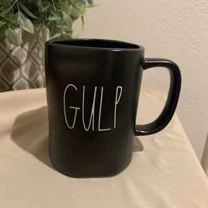 Rae Dunn Gulp Black NWT